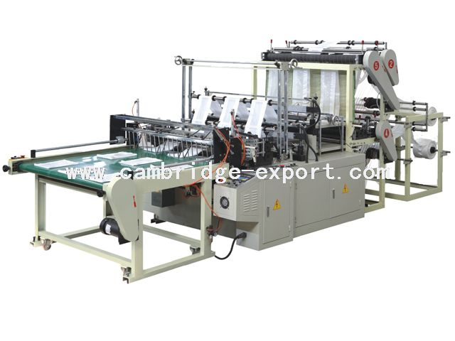 Double-deck Six-line Bag Making Machine